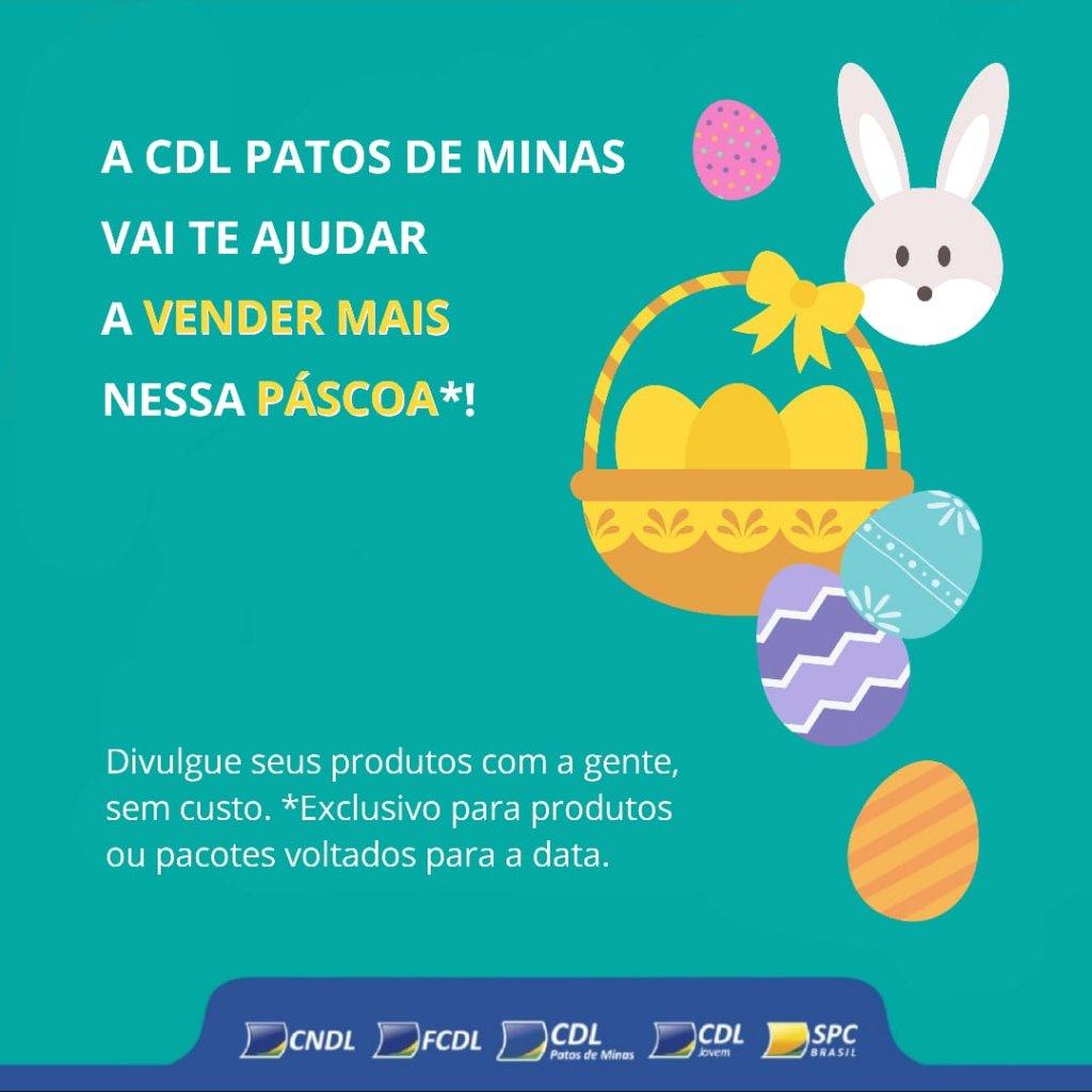 CDL Patos de Minas desenvolve ações  para auxiliar lojistas e promover as vendas de páscoa