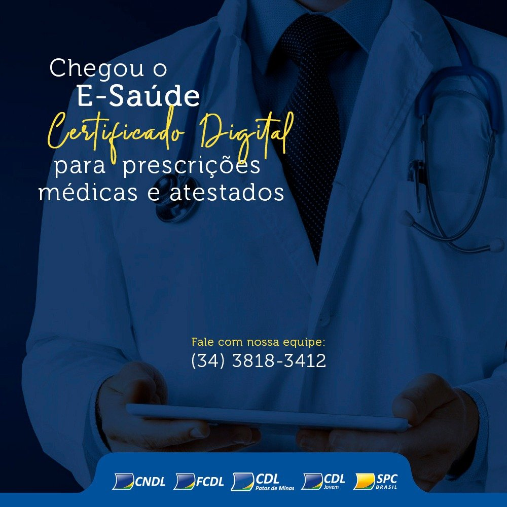 Chegou o E-Saúde, produto exclusivo para médicos e profissionais de saúde