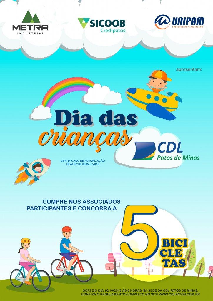 CDL realiza campanha do Dia das Crianças