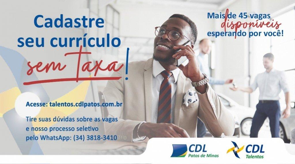 CDL abre cadastro de currículo sem taxa para movimentar contratações