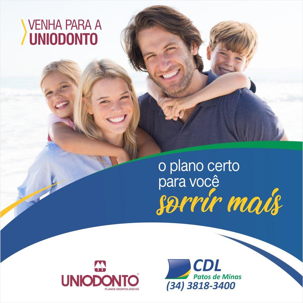 A Uniodonto e a CDL têm um plano odontológico que cabe no seu bolso.