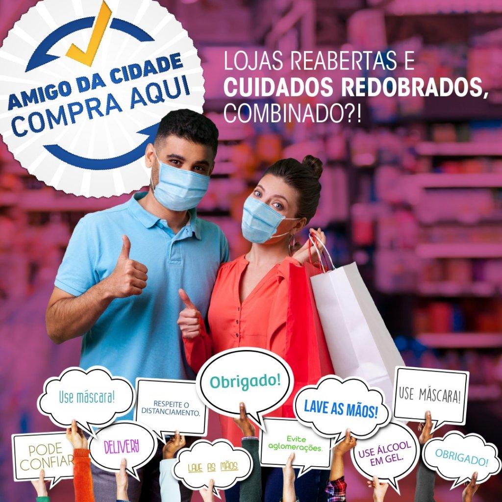 Manual de Boas Práticas para os  Lojistas- Enfrentamento da Pandemia
