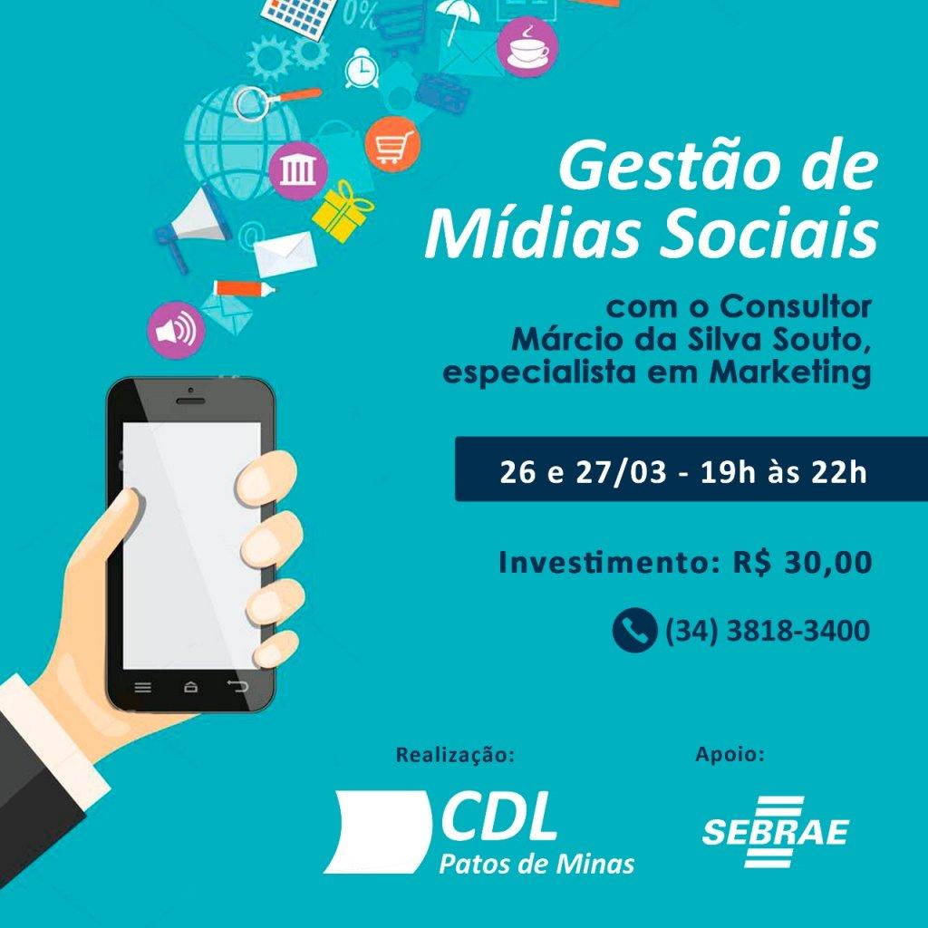 CDL Promoverá Oficina Gestão de Mídias Sociais