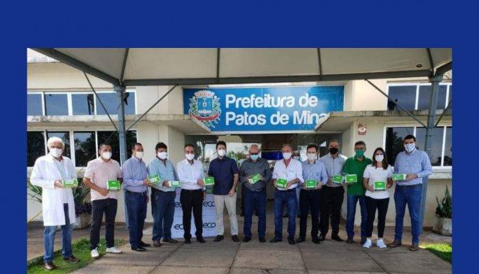 Após sugestão da CDL Patos de Minas, cooperativas e entidades doam Testes Rápidos da Covid-19 para o Município.